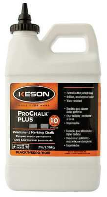 Concentrated Marking Chalk Refill, Black ,Keson, PM103BLACK
