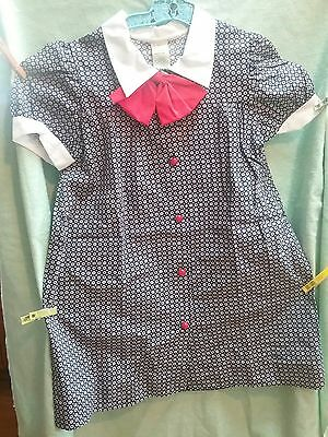 Vintage Greenaway 1950s dress 4 5 6 Shirley Temple inspired frock radiant
