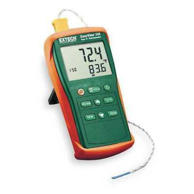Thermocouple Thermometer,1 Input,Type K EXTECH EA11A