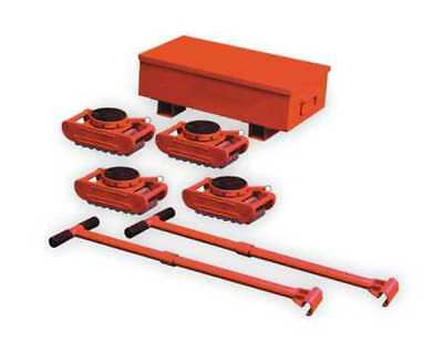 DAYTON 2MPR2 Equipment Roller Kit,88,000 lb.,Swivel