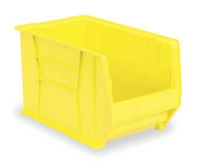 Super Size Bin,20 In.L,12-3/8 In.W,6 In. AKRO-MILS 30280YELLO