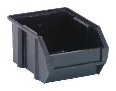 "Black Conductive Stack and Hang Bin, 5-3/8""L QUANTUM STORAGE SYSTEMS QUS210CO"
