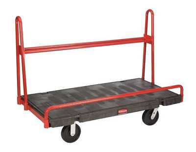 RUBBERMAID FG446400BLA A-Frame Panel Truck,60 In. L,30 In. W