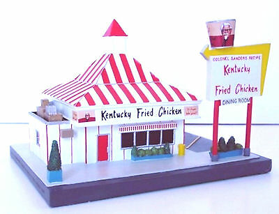 KENTUCKY FRIED CHICKEN RESTAURANT KFC 50's Style Fast Food Diner Lefton 1995 MIB