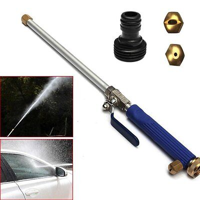 Car Home Garden Washing Cleaner Spray High Pressure Water Gun Hose Nozzle LE