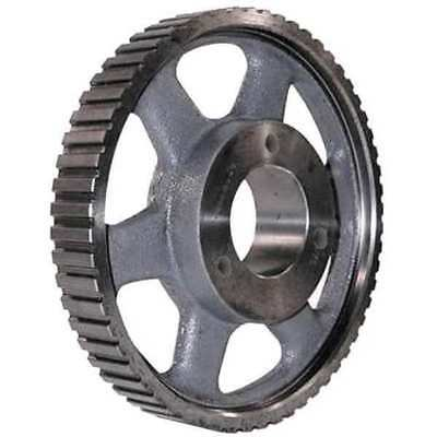 POWER DRIVE 72HQ100 Gearbelt Pulley, H, 72 Grooves