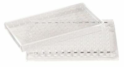 LAB SAFETY SUPPLY 11L797 96 Well Tissue Culture Plate w/Lid,PK50