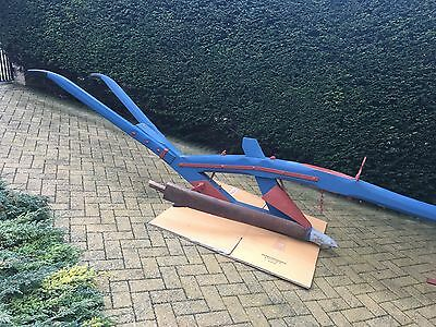 Early 19th Century Sussex Foot Turn-wrest Horse Drawn Wooden Plough