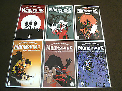 MOONSHINE # 1 2 3 4 5 6 Image Comics FIRST PRINTS Complete Arc