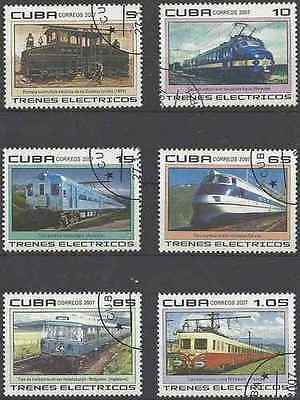 Timbres Trains 4414/9 o lot 19920