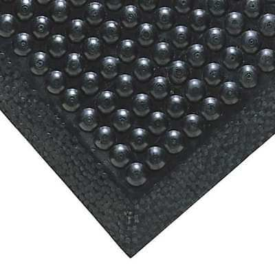 Antifatigue Mat,Black,2ft. x 3ft. NOTRAX 447S2436BL
