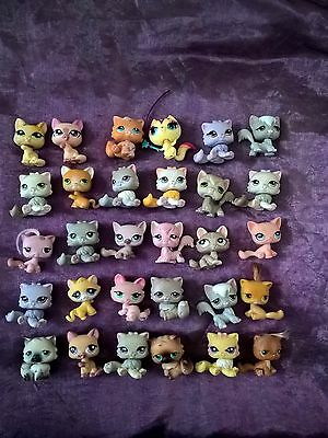 Petshop lot de 30  personnages chats lps