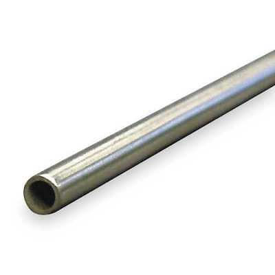 """ZORO SELECT 9627 5/8"""" OD x 3 ft. Welded 304 Stainless Steel Tubing"""