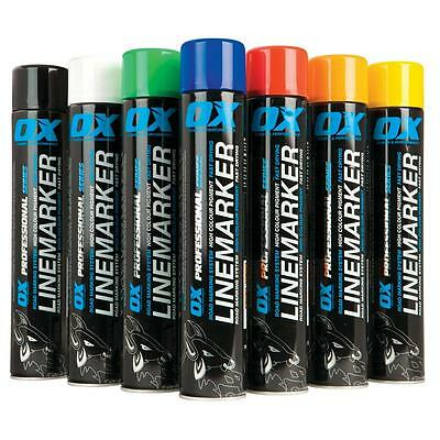 12 x CHEAP OX PRO LINE MARKER Road Marking System Fast Drying Spray