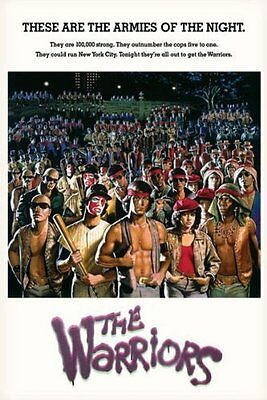 (LAMINATED) THE WARRIORS MOVIE POSTER (61x91cm) ONE SHEET PICTURE PRINT NEW ART