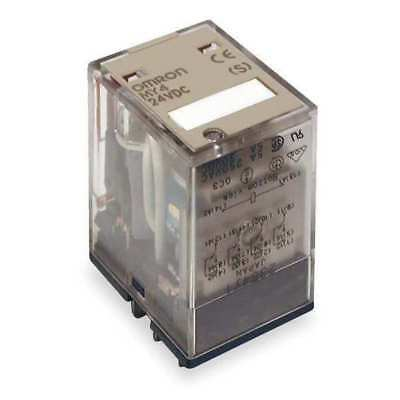 Plug In Relay,14 Pins,Square,24VDC OMRON MY4N-DC24(S)
