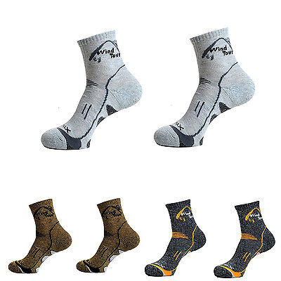 Wind Tour Mountaineering Sports Socks Excellent Stretch Lightweight Running D2V5