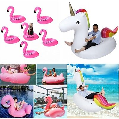 UK Giant Inflatable Water Float Raft Swimming Pool Lounger Beach Fun Sports Toys