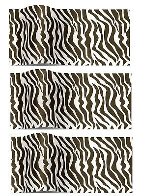 Zebra Animal Print Patterned ~ Acid Free Tissue Paper Sheets 35x45cm
