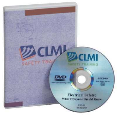 Loto Auth. Employee Training, DVD Only CLMI SAFETY TRAINING LAUDVD