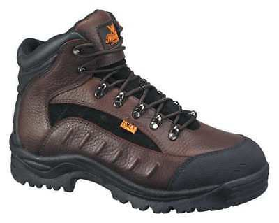 Size 9-1/2 Hiking Boots, Men's, Dark Brown/Black, Steel Toe, M, Thorogood Shoes