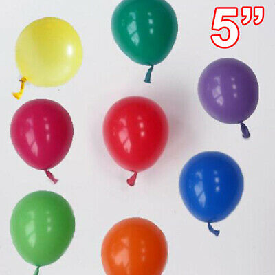 "5""inch Small Round Latex Best 100 Balloons Quality Standard ballon Colour baloon"
