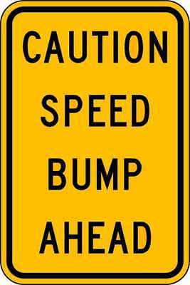 Traffic Sign,18 x 12In,BK/YEL,Text LYLE TR-034-12HA