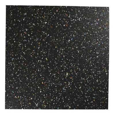 8501-5/16A Recycled Rubber, 5/16 In Thick, 12x12 In