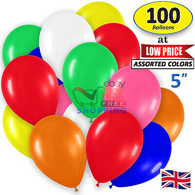 "5""inch Small Best Round Latex 100 Balloons Quality Standard ballon Colour baloon"