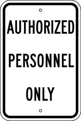 Parking Sign,18 x 12In,BK/WHT,Text