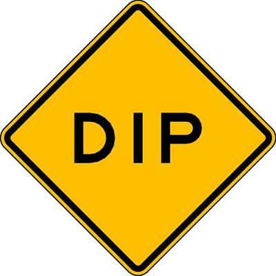 Traffic Sign,24 x 24In,BK/YEL,Dip,Text LYLE W8-2-24HA