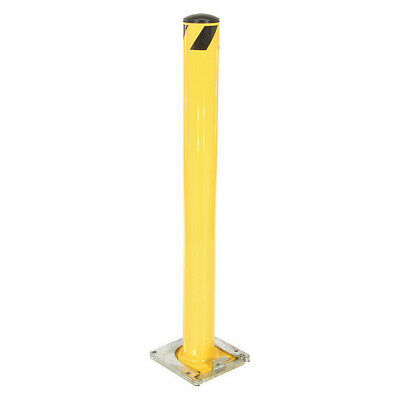 "BOL-RF-48-4.5 Bollard, Removable, 4-1/2"", Yellow"
