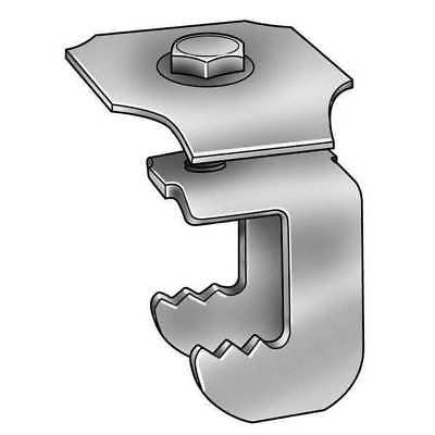 GRATING FASTENERS WGG-2A Grating Clip, G-Clip, 1 Bar H, PK 50