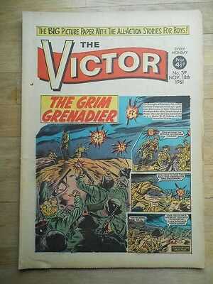 The Victor comic No. 39 from 1961