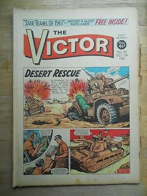 The Victor comic No. 33 from 1961