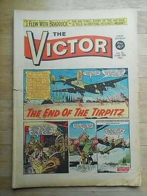 The Victor comic No. 16 from 1961