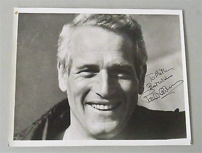 "Paul Newman Signed / Autographed 8x10 Photo "" To Beth "" JSA LOA Deceased 2008"