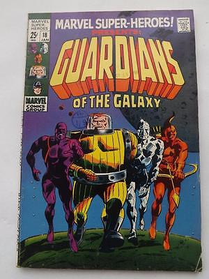 MARVEL SUPER-HEROES #18 (1969) 1st. GARDIANS OF THE GALAXY FINE 5.0