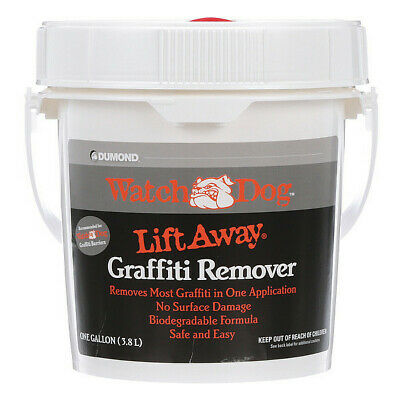 DUMOND 8201 Lift Away Graffiti Remover, 1 Gal