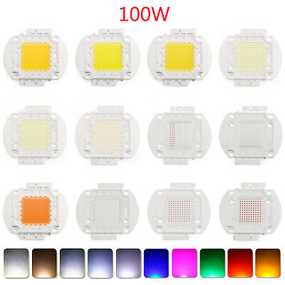 10W LED Bright Integriert Chip Hohe Energie Licht Diode Leuchtdiode 22+ Farben