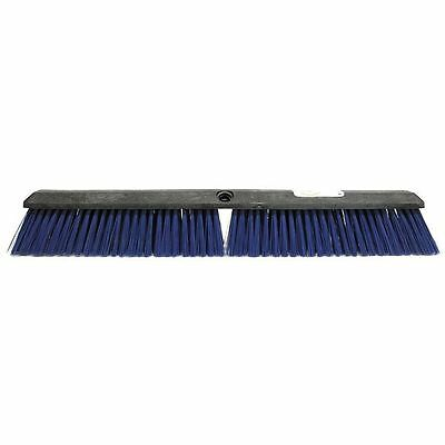 TOUGH GUY 6YTC5 Floor Brush, 24 In, Blue