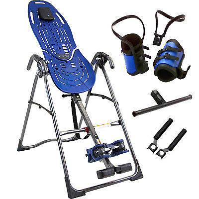 Teeter Hang Ups EP-560 Sports Inversion Table & Gravity Boots Package - NEW