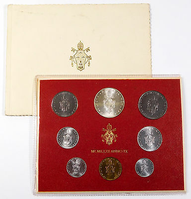1975 Vatican City Mint Set - Original Packaging