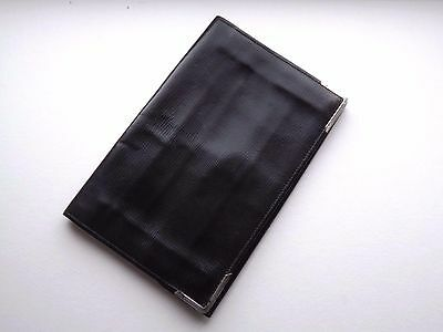 Vintage 1940's / 1950's Silver Mounted Calf Leather Wallet