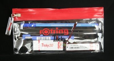 Rotring TIKKY School Set Pencil, pen, eraser & leads