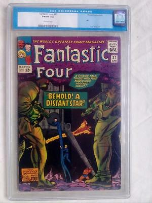 Fantastic Four #37 Cgc 7.0 Ow Pages