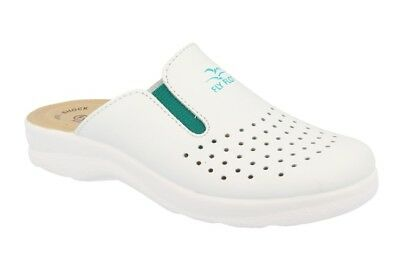best website 96401 e59ad FLY FLOT CIABATTE sanitarie bianco anti shock anatomiche donna 81474