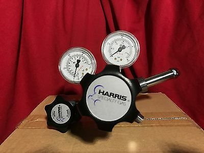 Harris High Purity Brass Barstock Two Stage Regulator