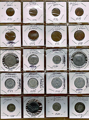 Lot Of 20 Coins From Various Contries