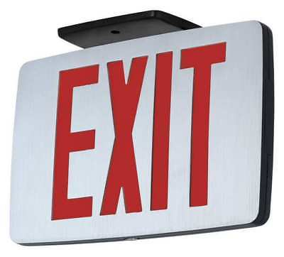 HUBBELL LIGHTING COMPASS LED Exit Sign/ Battery Backup